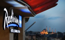 RB Istanbul Pera Facade and Signage