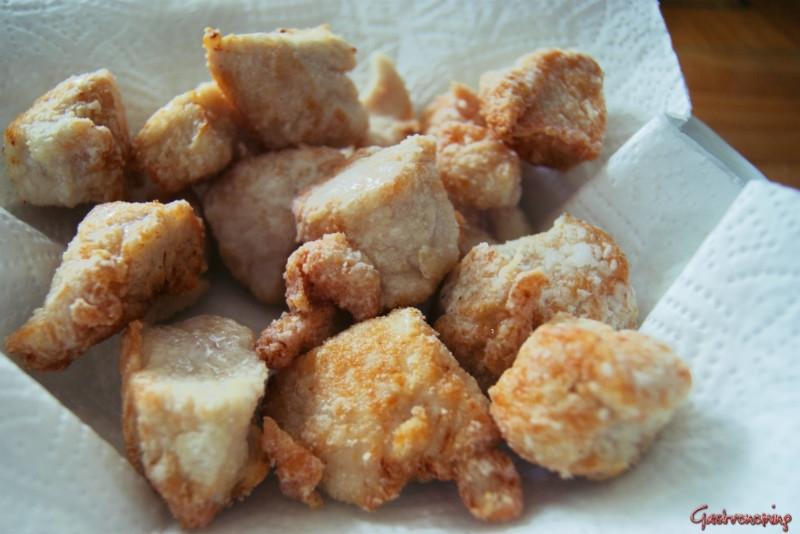 pollo con piña