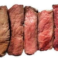 Puntos de cocción de la carne