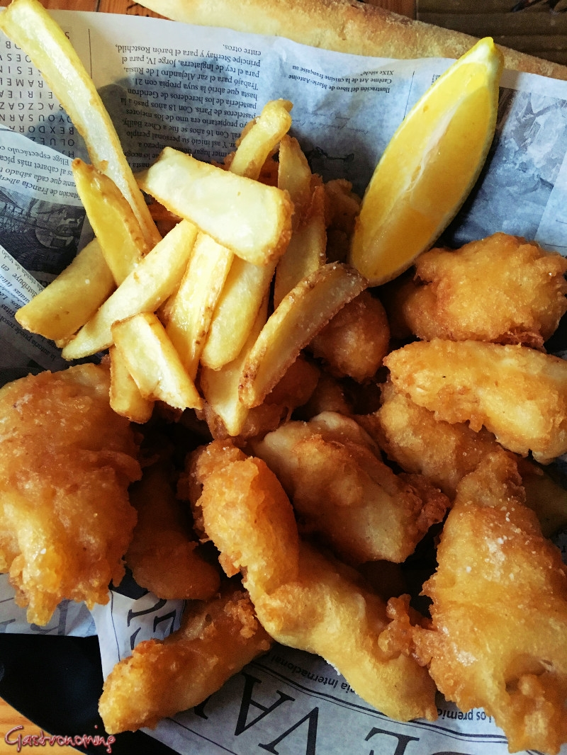 fish and chips, beer batter