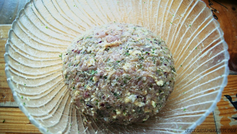 Hamburguesas de pavo y queso feta