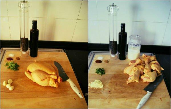 Pollo asado con buttermilk