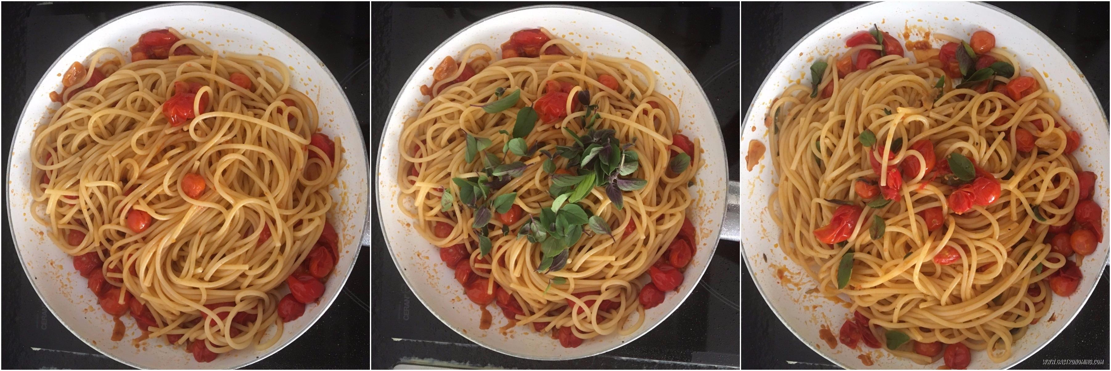 spaghetti e pomorodino