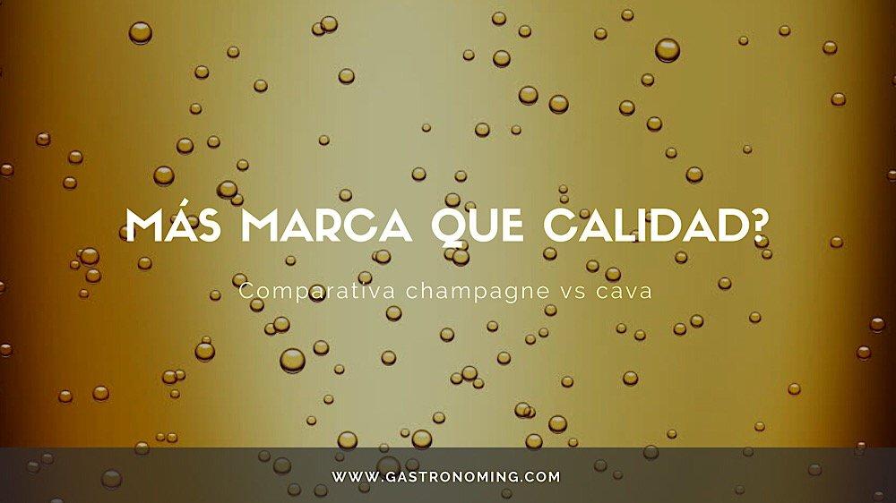 """¿Más marca que calidad"""" comparativa champagne vs cava"""