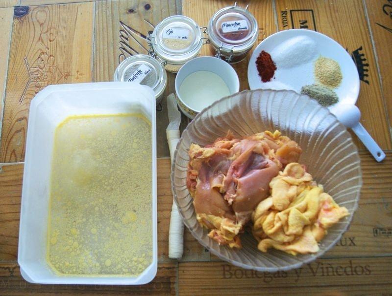 Salchichas de pollo 2