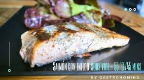 salmón con eneldo sous vide