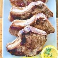 Chuletas de cerdo con 5 especias al limón (sous vide)