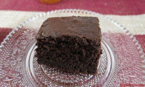 Comme un brownie au chocolat...