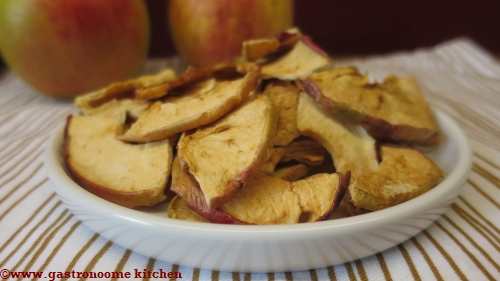 chips de pommes à la cannelle