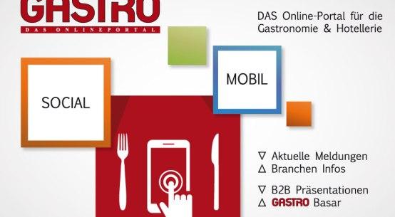GASTRO Portal, Gastroportal, Gastronomie, Hotellerie, Tourismus, Plattform, Netzwerke, Speisen, Getränke, Non-Food