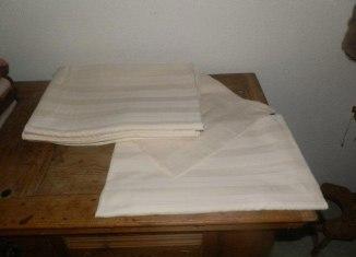 Baumwolldamast Bettwäsche zu verkaufen