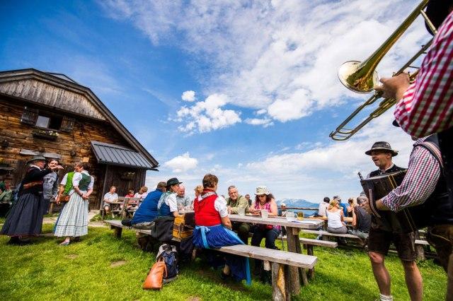 Sommer in den Bergen Niederösterreich