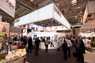 Vielseitige Gargeräte Rational Gast Messe Messestand RATIONAL 2015