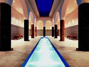 Hotelbeleuchtung von Molto Luce Therme Geinberg 5 Spa Villas 5 Hamam