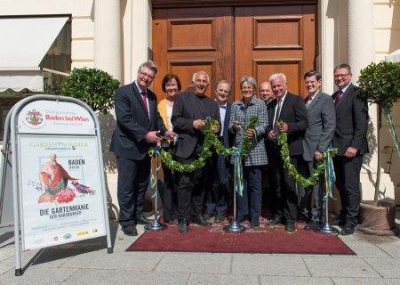 Gartenmanie der Habsburger eröffnet