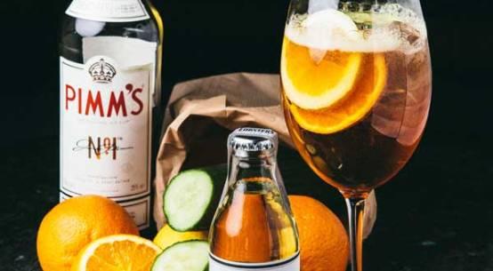 Cocktail-Rezept Pimms Cup Lobsters
