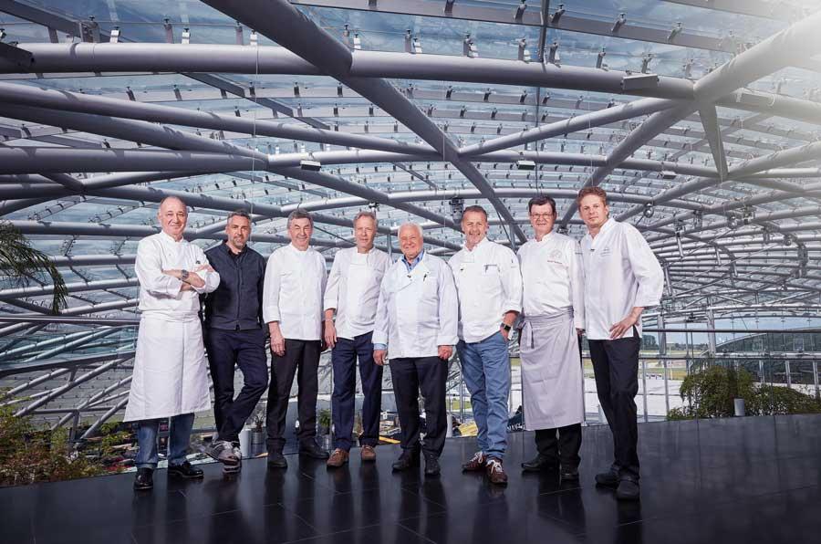 Eckart Witzigmann Geburtstag Restaurant Ikarus  GASTRO Portal