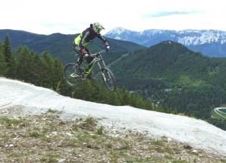 Neue Downhill-Strecke Bikepark Semmering
