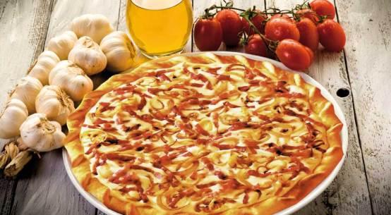 Original Elsässer Flammkuchen für die Gastronomie