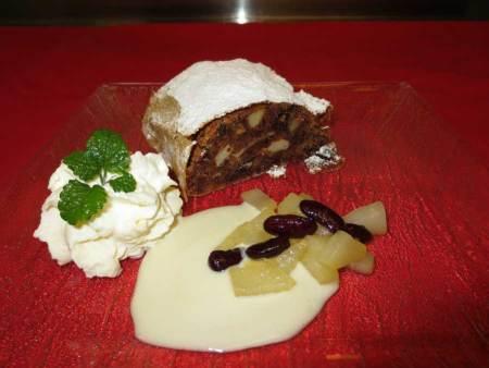 Hülsenfrüchte Rezept für Birnen-Bohnen-Strudel