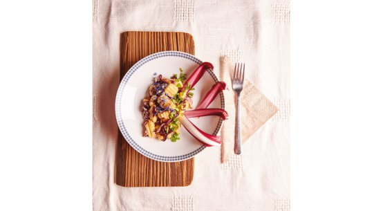 Rezept für Kartoffelgnocchi mit Radicchio Gartenküche