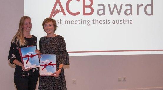 Auszeichnungen für Jungforscherinnen ACB