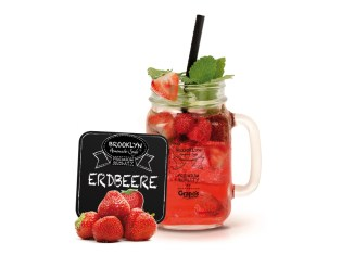 Veganes Sommergetränk Erdbeere für die Gastronomie
