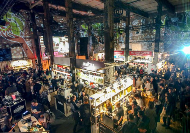 Kaffeekultur auf höchster Stufe, Barista Champions und Staatsmeister können in der Ottakringer Brauerei beim Vienna Coffee Festival 2019 bestaunt werden