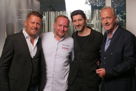 v. l. n. r.: Mike Süsser, Hubert Wallner, Paul Ivic, Martin Sieberer