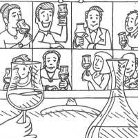 Virtuelle Wein-Degustationen