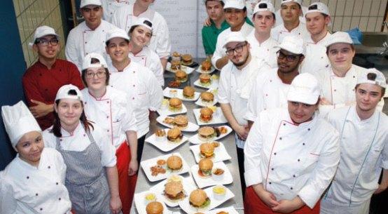 Wiener Lehrlinge kreieren originelle Burger-Rezepte