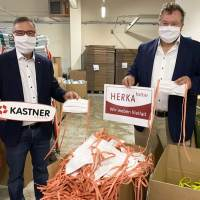 Kastner kauft Schutzmasken aus regionaler Produktion