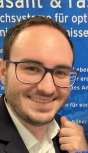 Sebastian Scholl, European Marketing Communications Manager von Ecolab, bietet ein gesamtes Programm für die Partner