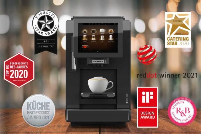 Designpreise für Franke Kaffeeautomaten