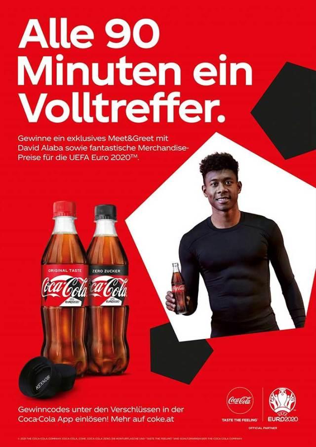 Coca-Cola UEFA EURO 2020 Coca-Cola intensiviert seine Marketing-Aktivitäten rund um die UEFA EURO 2020.