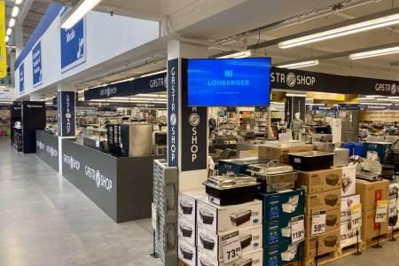 Der Metro Gastroshop im Großmarkt in Langenzersdorf will gleichsam ein Kompetenzzentrum speziell für die Gastronomie sein.