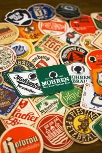 Mohren-Brauerei öffnet Bierdeckel-Museum