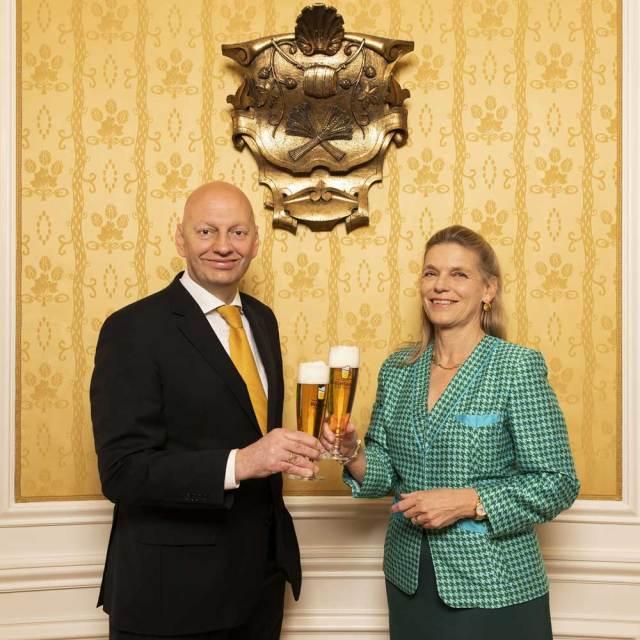 Jutta Kaufmann-Kerschbaum übergibt in wenigen Tagen an Florian Berger die Geschicke der Interessenvertretung im Bierland Österreich.