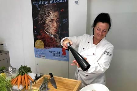 Auszeichnung für TV-Serie Das Mozarthaus Vienna wurde für die Aufnahmen kurzerhand zum Kochstudio umfunktioniert.