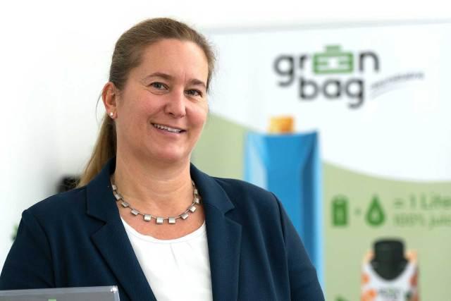 Auszeichnung für Green-Bag Martina Giczy will mit ihrer Idee einen Stein ins Rollen bringen, der einen positiven Nachhaltigkeitseffekt mit sich bringt.