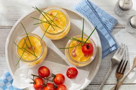 Pasteurisierte Eiprodukte Gastronomie
