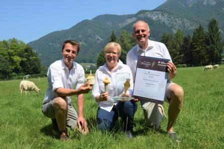 Auch in Österreich versteht man sich aufs Eismachen, etwa die Familie Eisl aus Salzburg.