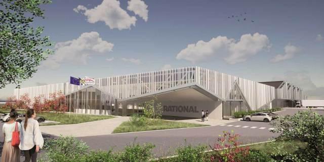 Rational auch am Standort Elsass erfolgreich Wittenheim im französischen Elsass ist neben Landsberg am Lech (D) einer von zwei Standorten der rational-Produktion.