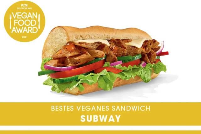 Subway mit veganem Angebot erfolgreich