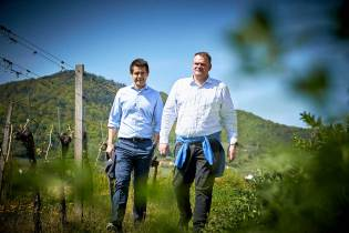 Roman Horvath und Heinz Frischengruber.