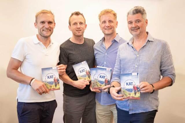 Die vier Geschäftsführer der Kitzbüheler Alpen beim Strategieworkshop: Nachhaltig, regional und digital soll der touristische Weg sein.