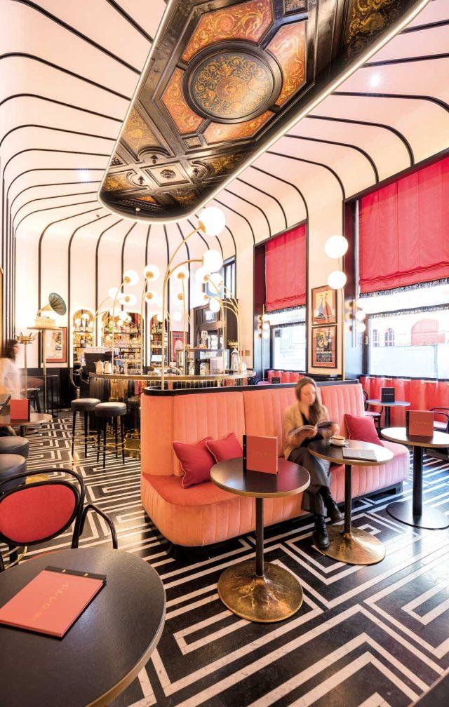 Der neue – und ausgezeichnete – Sacher Salon. Foto: BWMArchitekten_SeverinWurnig