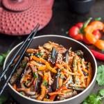 Asian Eggplant Salad – Xe