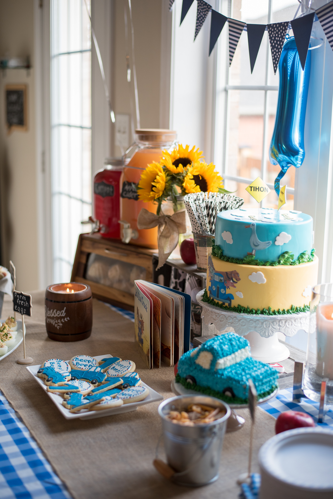 Little Blue Truck Birthday Party Gastrosenses