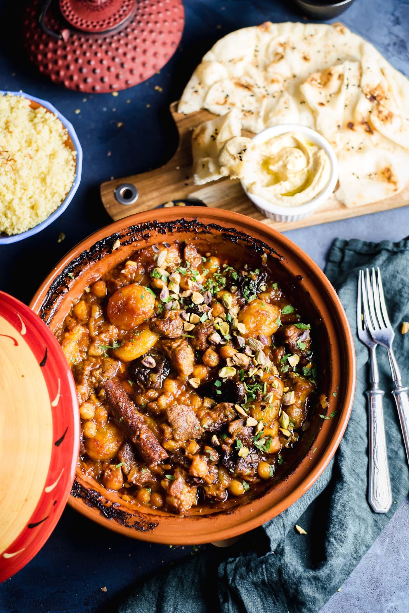 Moroccan Lamb Tagine Gastrosenses
